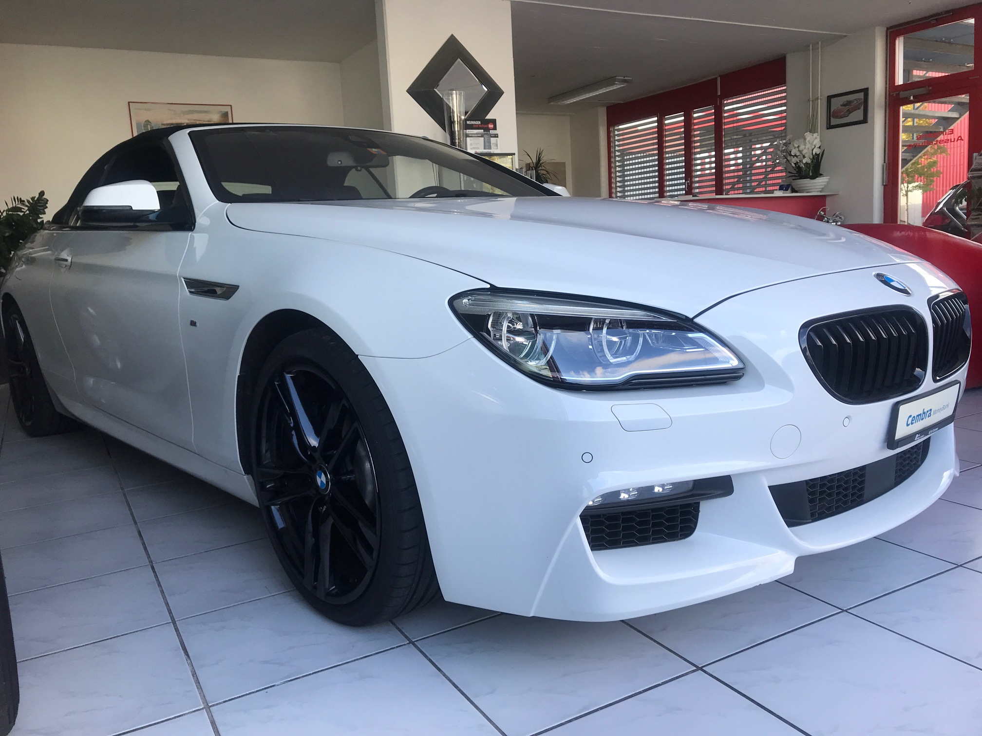 BMW 640d xDrive  (Cabriolet)